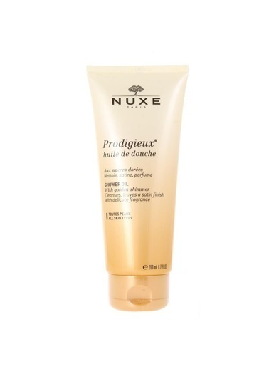 Nuxe Prodigieux Huile De Douche Shower Oil - Temizleyici Vücut Yağı 200 ml Renksiz